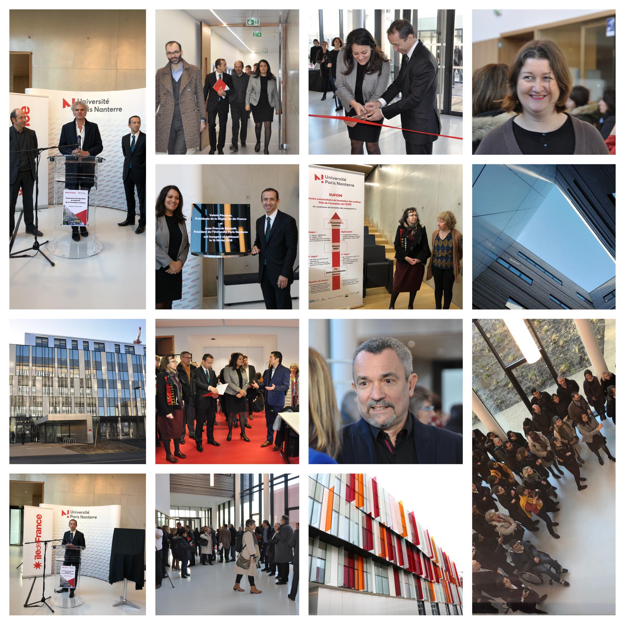 Montage photos inauguration bât FC 16-02-2018